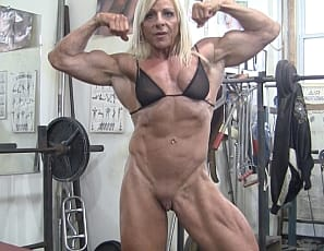 Words... female body builders nude