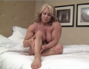 But she's tired, and decides, I need to wake my clit up! Watch her masturbate