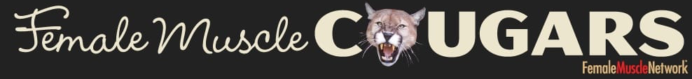 Female Muscle Cougars logo