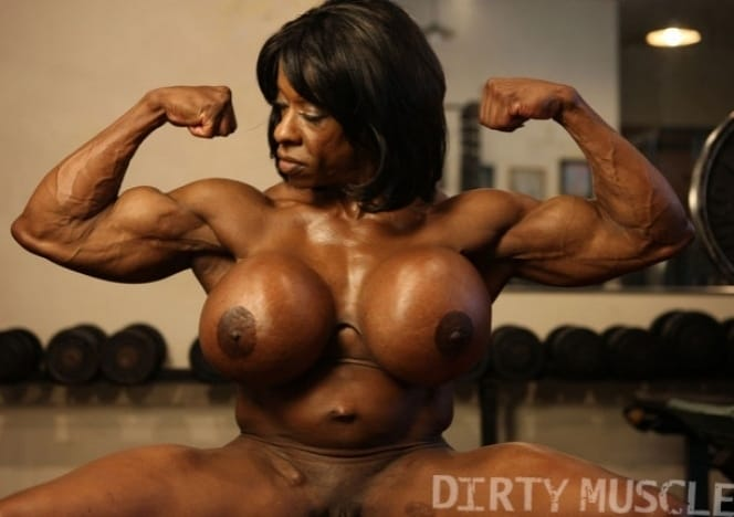 Nude Female Muscle Cougar